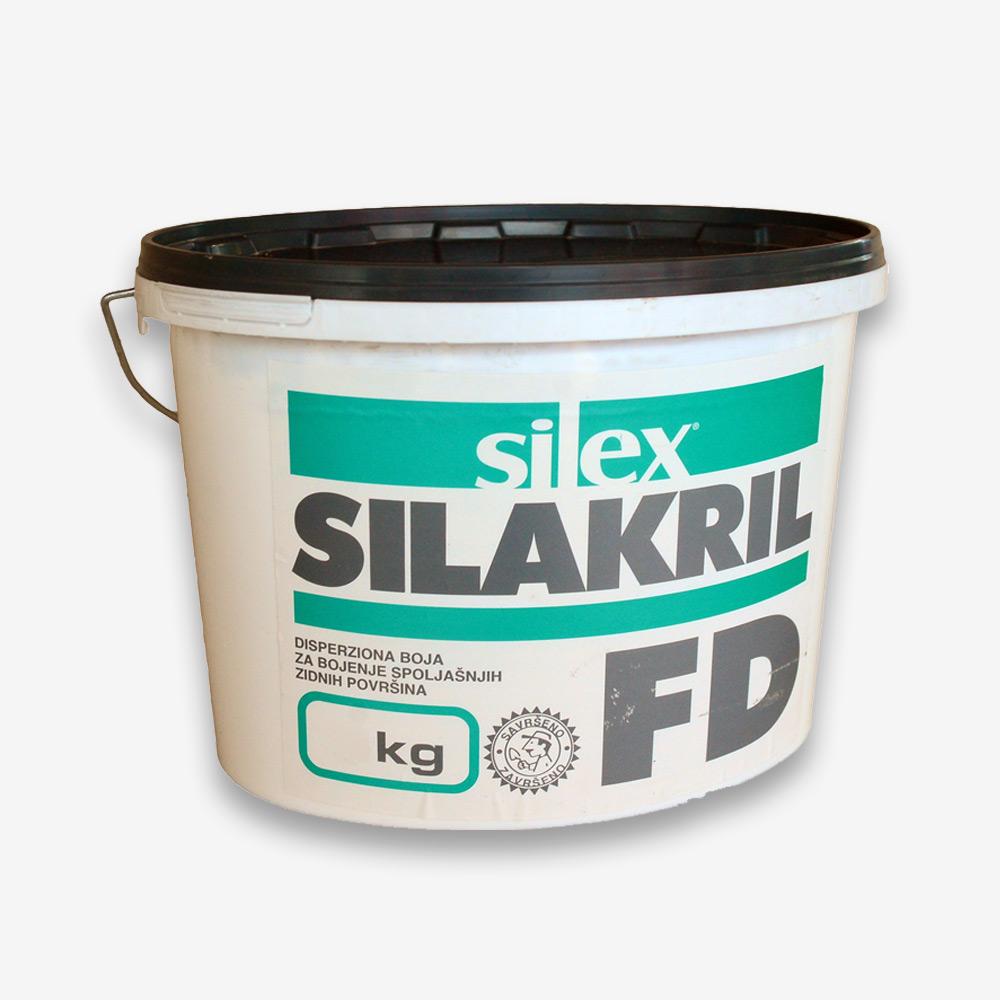 Fasadna boja SILAKRIL FD 25/1 bijela 25kg