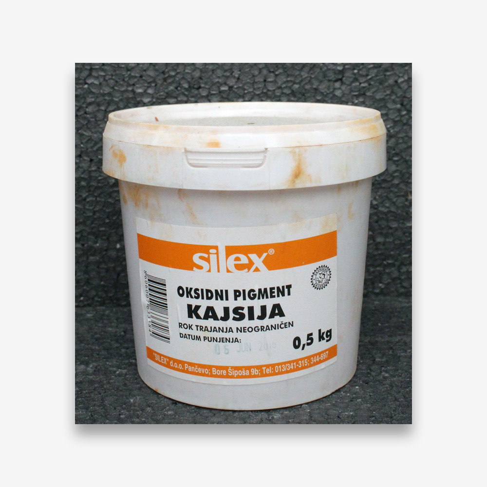 OKSIDNA BOJA narančasta 0.5kg