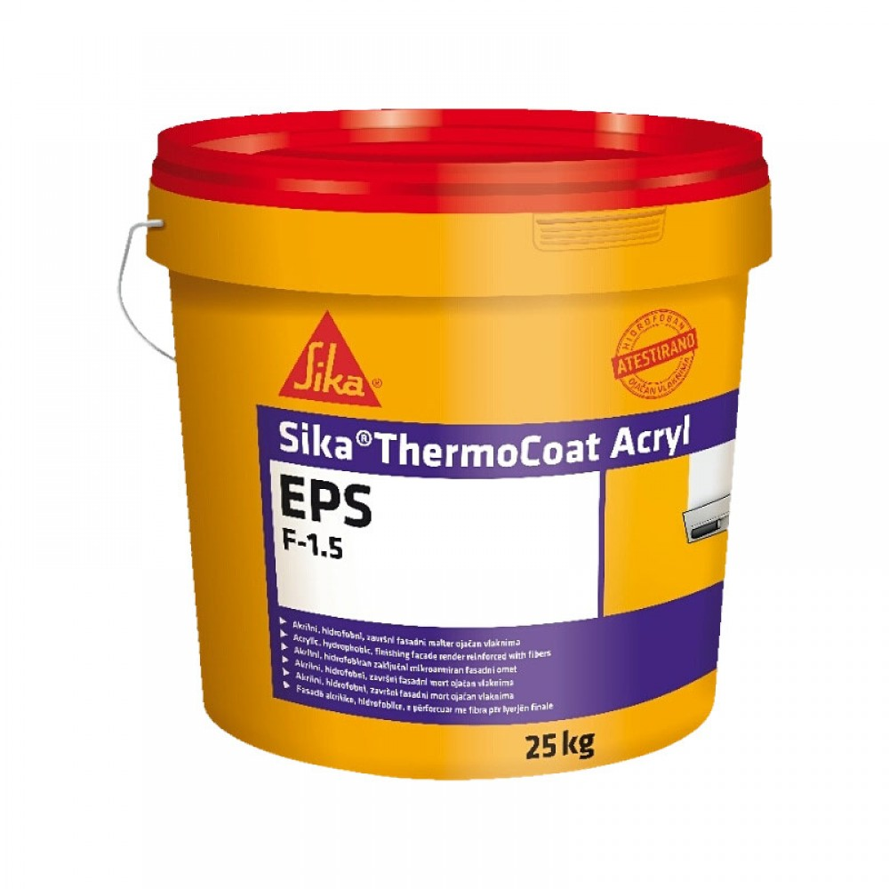 SIKA ThermoCoat AcrylEPS F 1.5 25/1