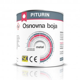 Pitura Aqual Osnovna Boja Metal 0,65L